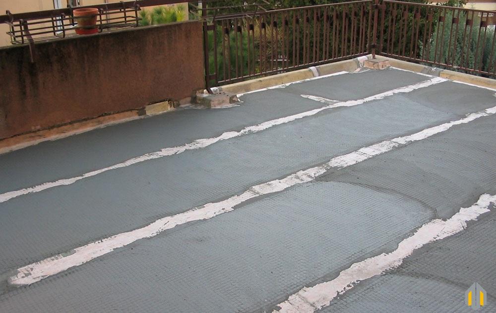 impermeabilizzazione terrazzi in pietra